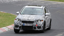 2015 BMW X1 spied on the Nürburgring for the first time