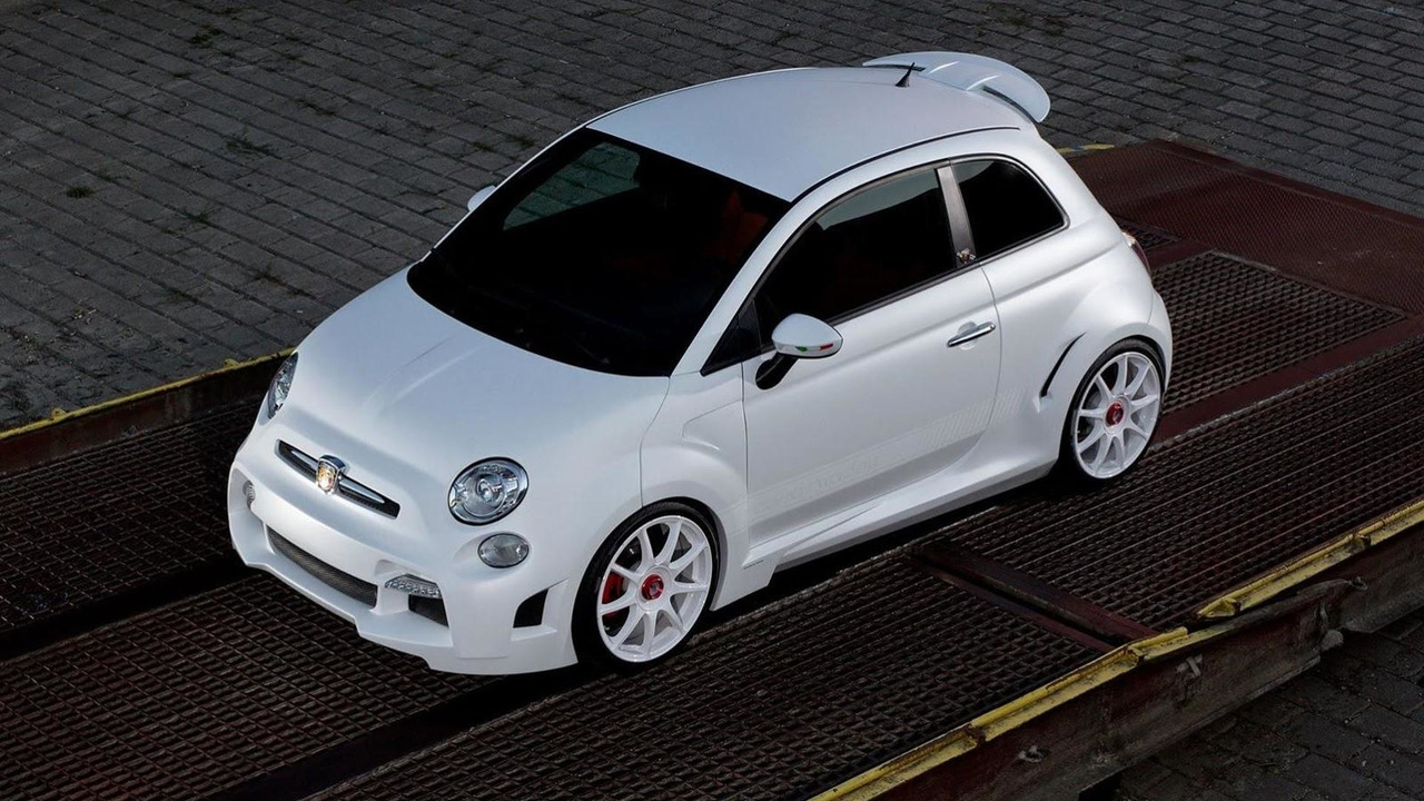 Abarth 500 Corsa Stradale concept by Zender 24.09.2013