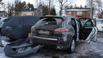 Facelifted Porsche Cayenne caught on camera once again