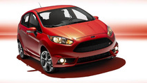 Ford says 2014 Fiesta ST returns 26 mpg city / 35 mpg highway