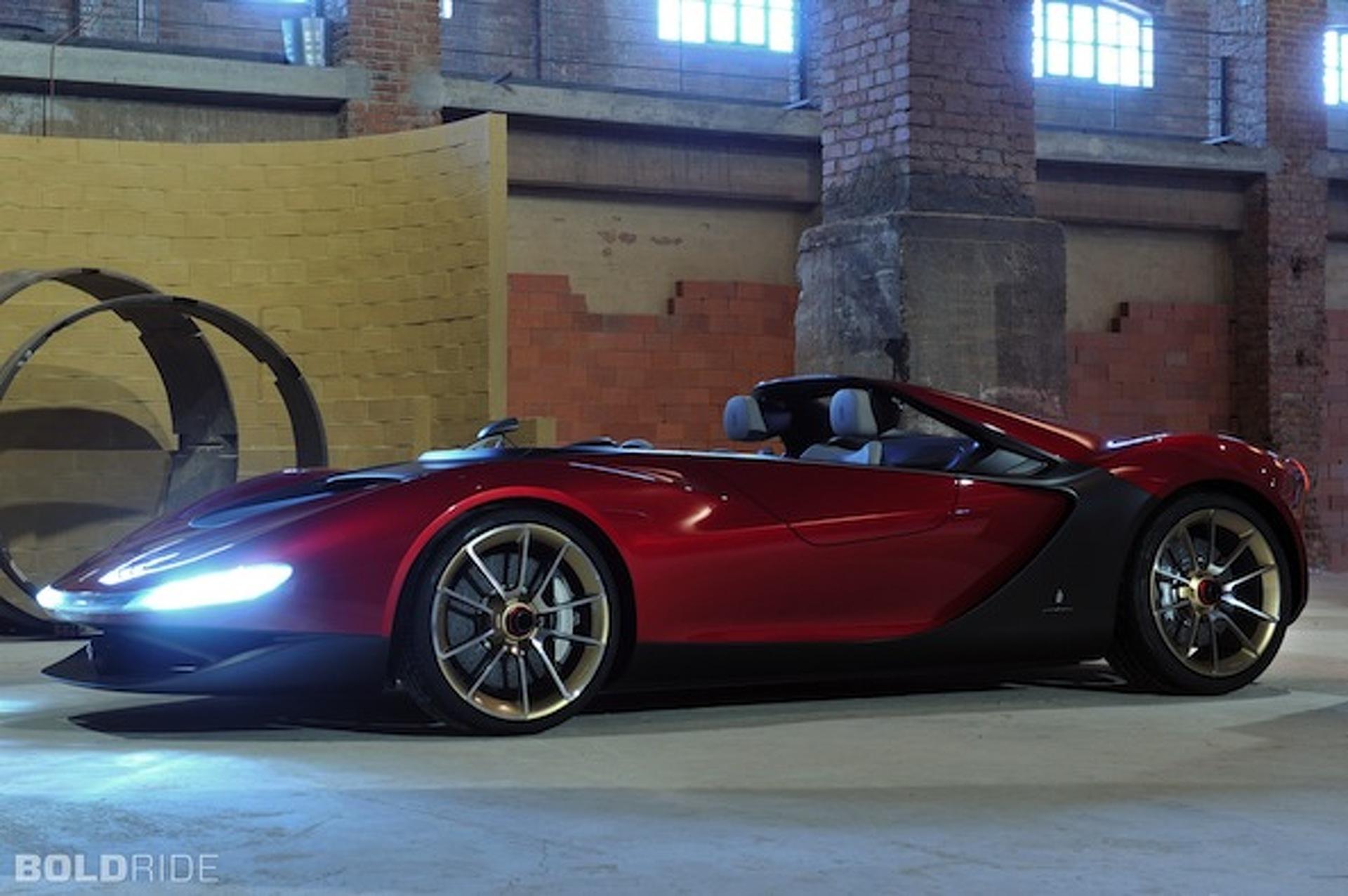 Pininfarina Considering Limited Run of Sergio Concept