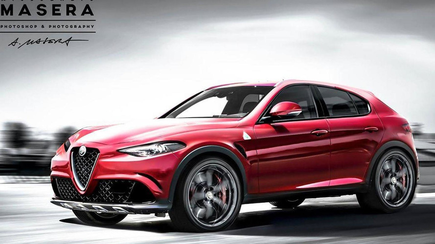 Upcoming Alfa Romeo SUV virtually imagined