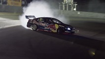 Red Bull converts Holden Commodore V8 Supercar into a drift monster
