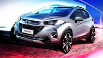 Honda WR-V crossover teased prior to November reveal