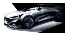 2017 Kia Cadenza teased, goes on sale next year