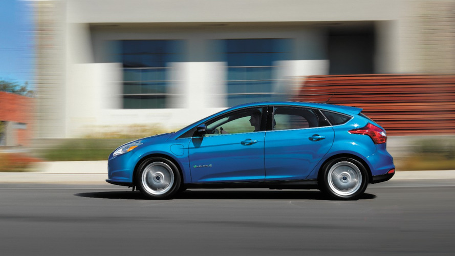 Euro-spec Ford Focus Electric gets new battery and increased range