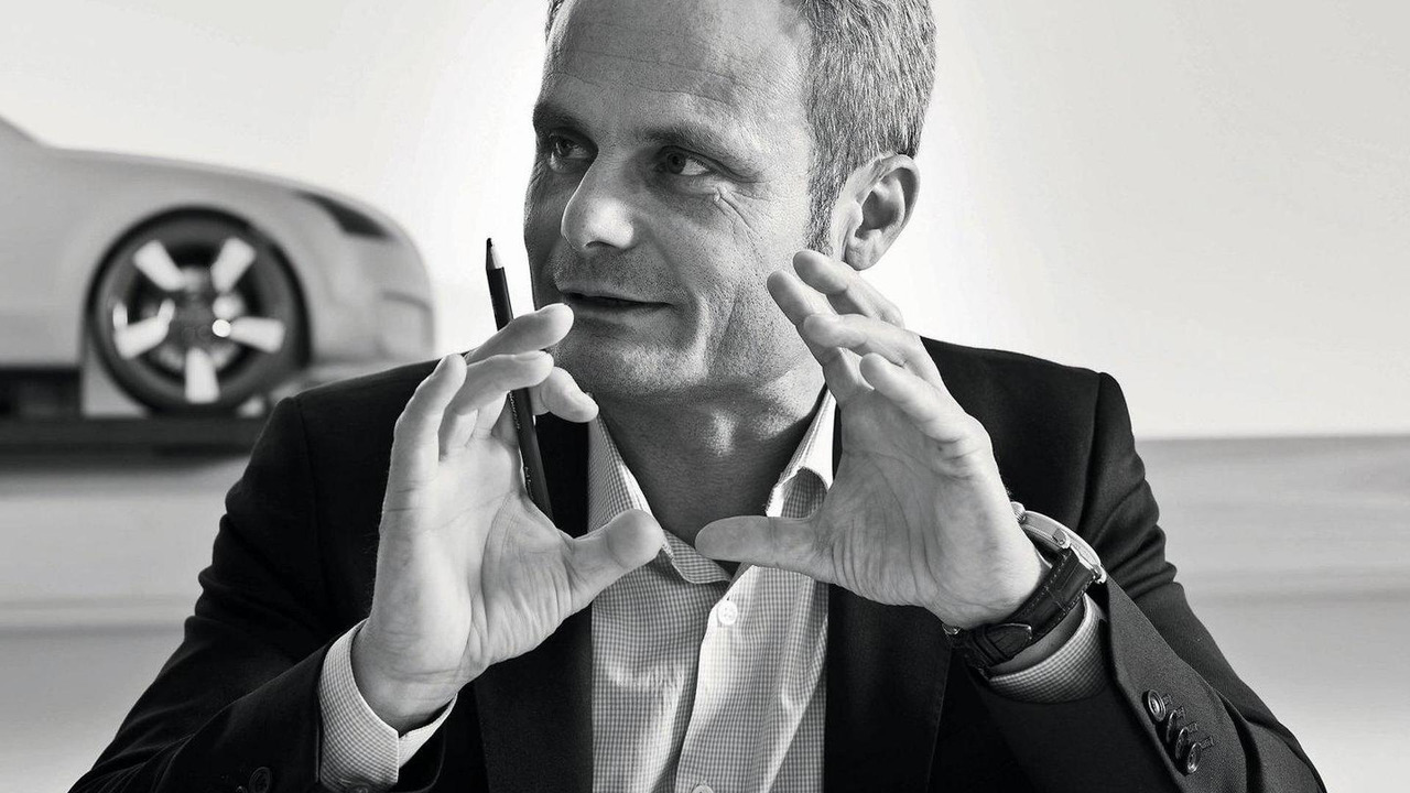 Wolfgang Egger, Head of Audi Group Design, Audi TT teaser 23.12.2011
