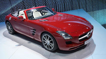Mercedes-Benz SLS AMG Roadster live in Frankfurt 15.09.2011