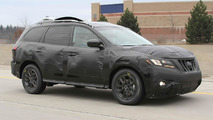 2013 Nissan Pathfinder spied for first time