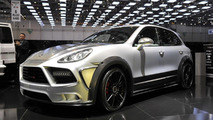 Mansory Cayenne widebody live in Geneva