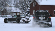 2012 Mercedes GL spied with SLS AMG Roadster