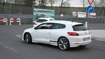 VW Scirocco R20 Spied at Nürburgring