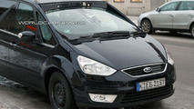 Ford Galaxy Development Mule Spied Winter Testing