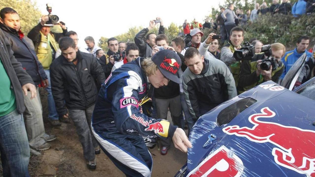 Kimi Raikkonen (FIN) Kaj Lindstrom (FIN), Citroen C4 WRC, Citroen Junior Team - Rally of Spain, World Rally Championship 2010, Rd 12, 22-24.10.2010 Spain