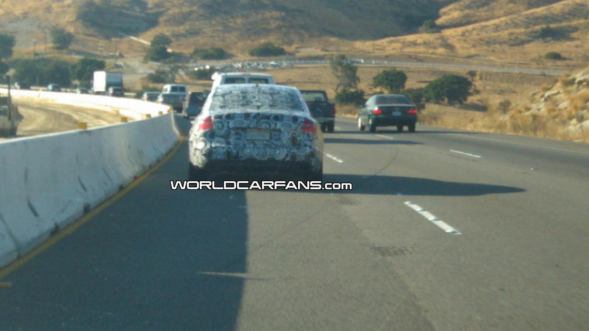 2012 Audi A6 spied in California