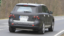2012 Mercedes ML AMG first spy photos 12.04.2010