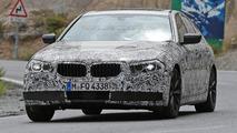 2017 BMW 5-Series plug-in hybrid spy photo