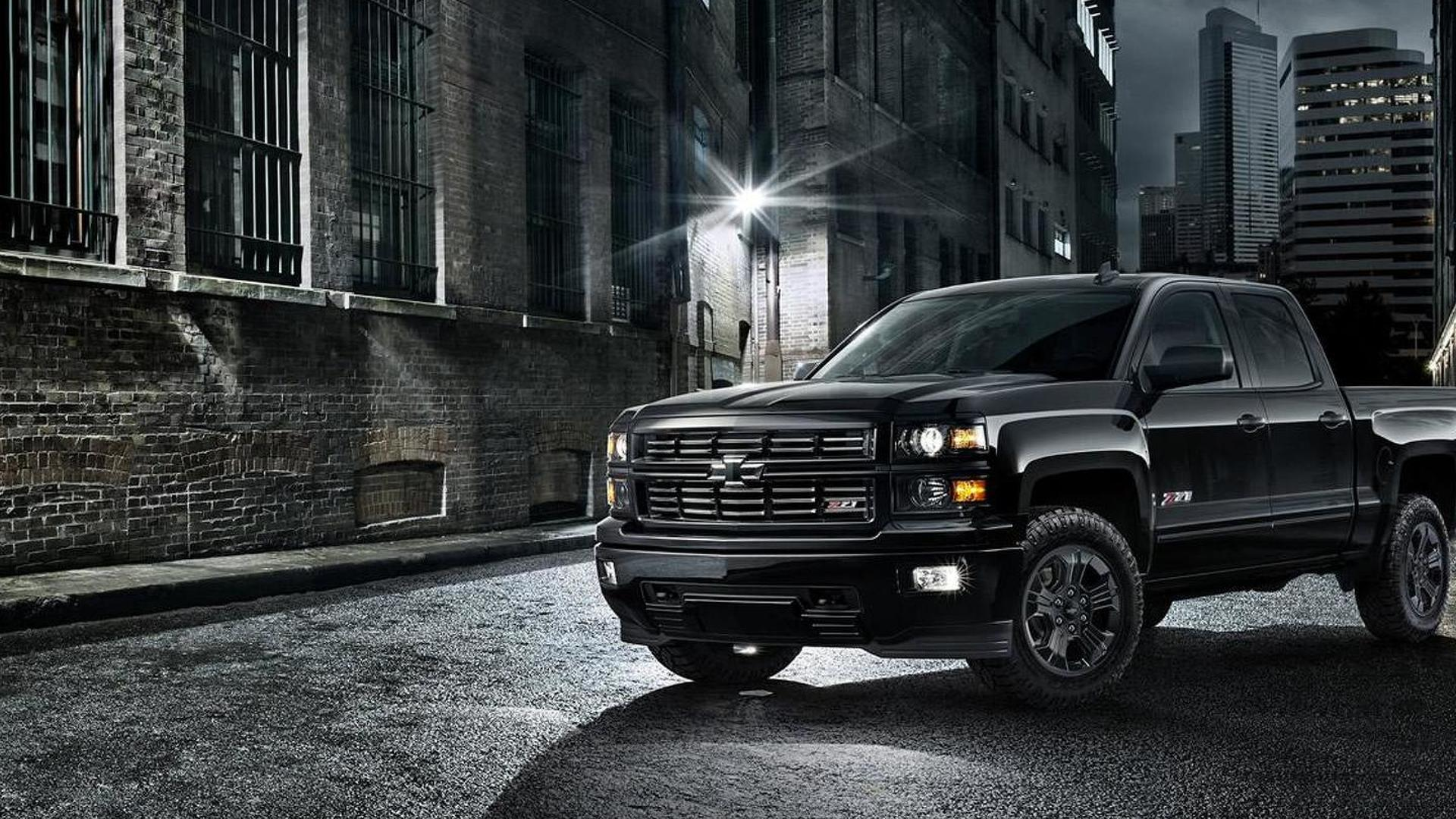 Chevrolet Silverado Midnight Edition revealed with all-black look