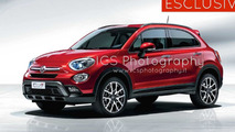 Fiat 500X fully revealing official images emerge