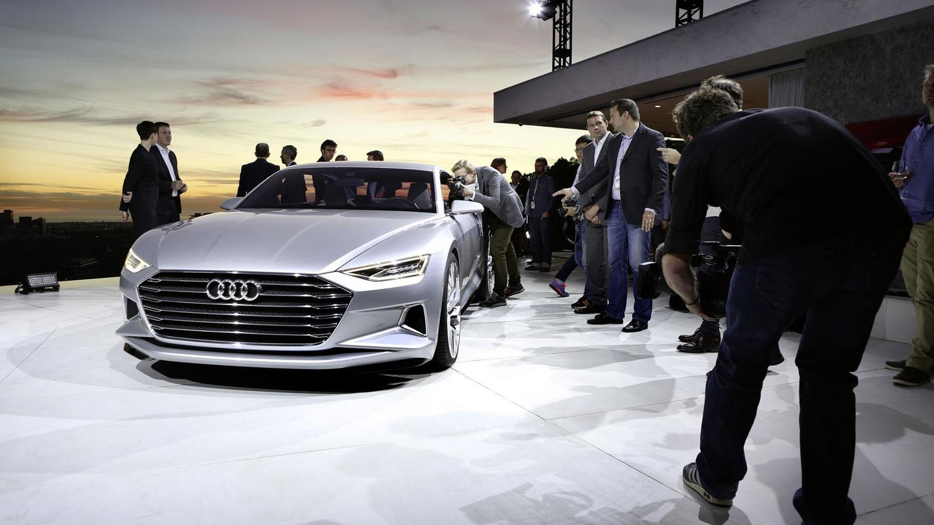 Audi unveils their stylish Prologue concept
