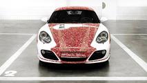 Porsche Cayman S 2,000,000 Facebook fan car  18.1.2012