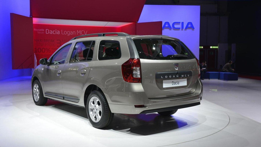2013 Dacia Logan MCV priced from 6,995 GBP, becomes UK's most affordable estate