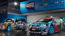 Ken Block Hoonigan Racing Division shows off their new livery and headquarters