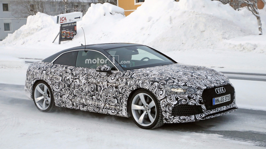 2018 Audi RS5 Coupe spied flexing its new muscles [UPDATE]