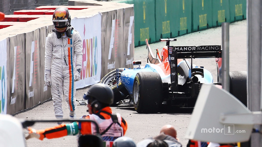 Pascal Wehrlein, Manor Racing retired from the race at the start