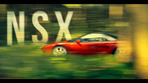 Short film pays tribute to Ayrton Senna and the Honda NSX