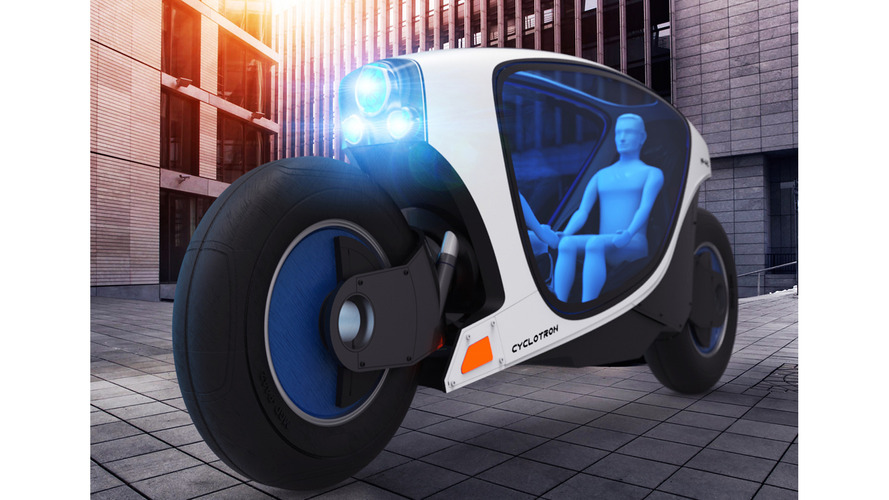 A self-driving motorcycle may be in the works