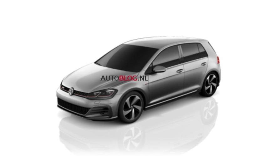 2017 VW Golf 7 GTI facelift leaked photos