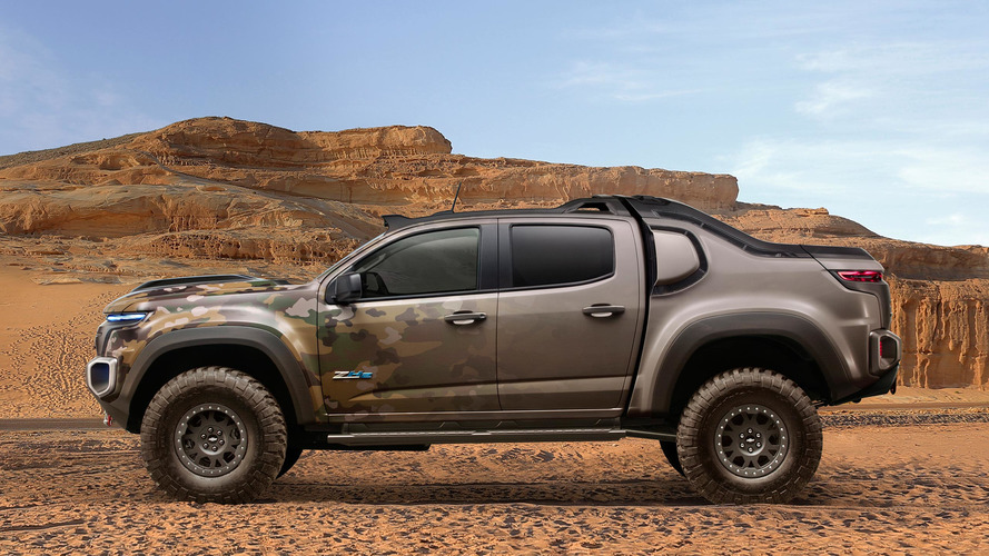 U.S. Army recruits the Chevy Colorado ZH2 FCEV