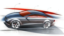A7 coupe sketch