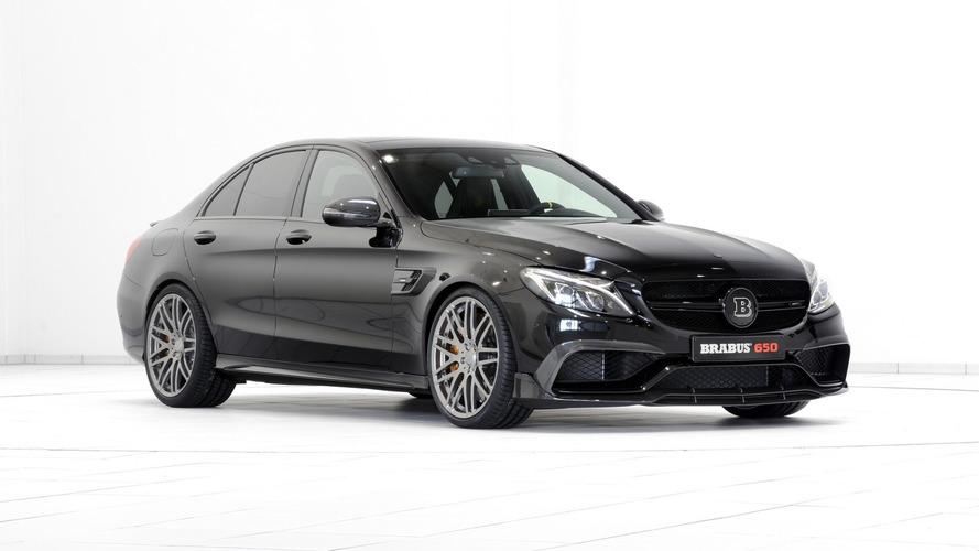 Brabus Mercedes-AMG C63 S packs 641 hp