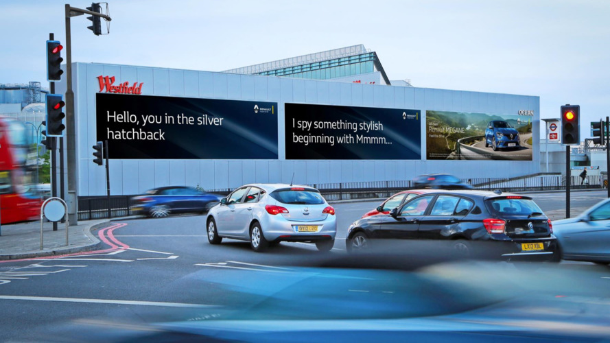 New Renault Megane ad campaign uses vehicle recognition technology