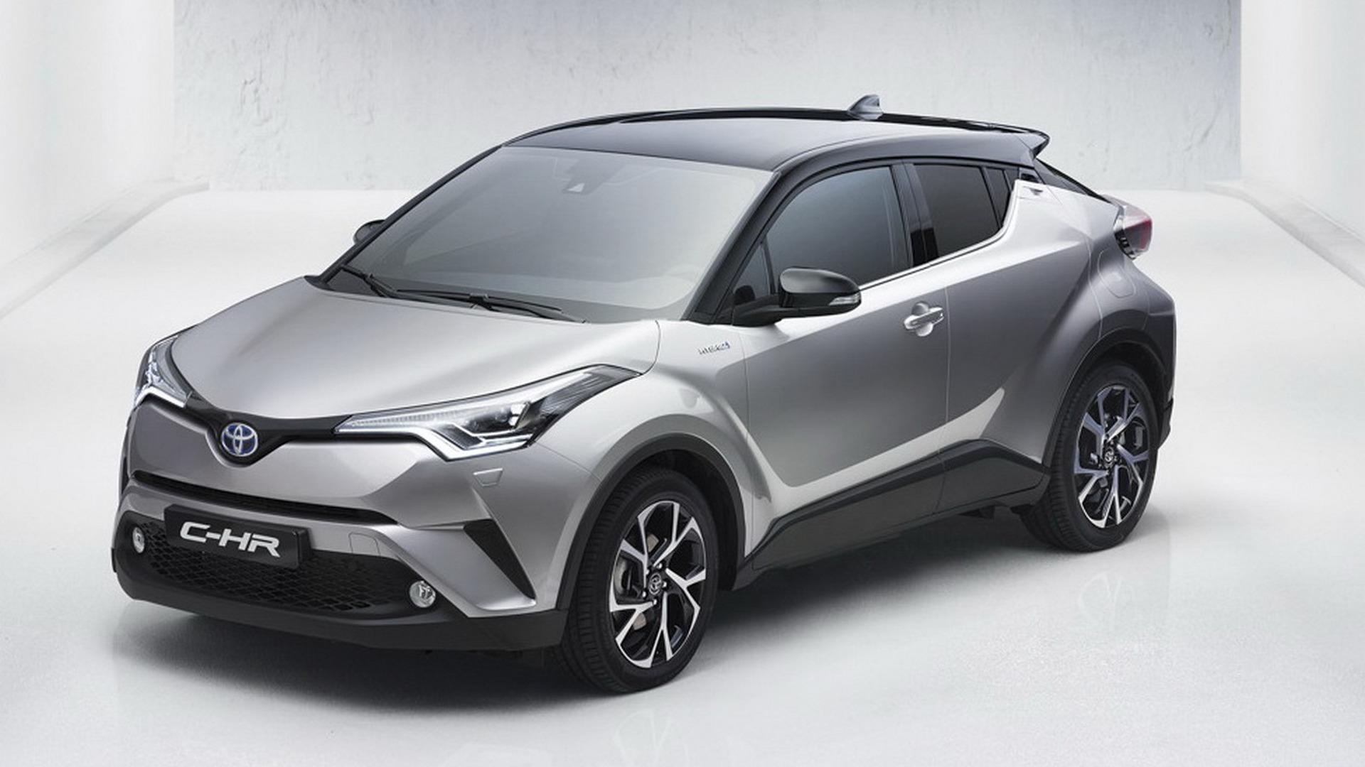 Toyota C-HR crossover leaked ahead of Geneva