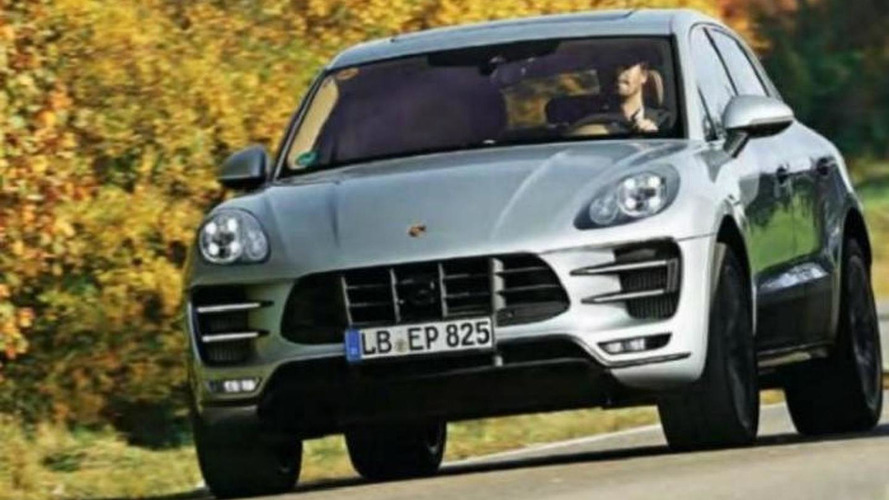2014 Porsche Macan leaks out early
