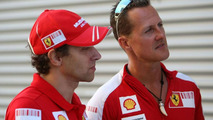 Schumacher says no to imminent F1 comeback