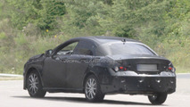 2013 Mercedes-Benz BLS spied for first time