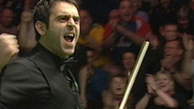 Ronnie O'Sullivan makes 147 break