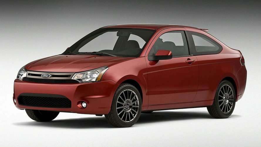 Redesigned 2009 Ford Focus Coupe Revealed