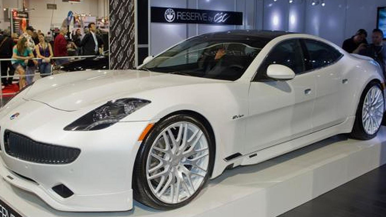 Fisker Karma with CEC body kit at SEMA