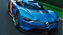 Alpine Renault A110-50 Concept leaked?