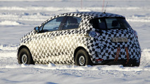 Renault Zoe electric spied