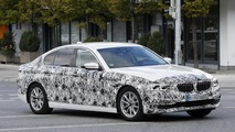 2017 BMW 5 Series Sedan spy photos