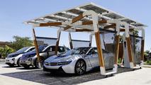 BMW DesignworksUSA i solar carport concept