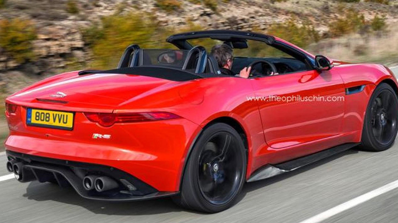 Jaguar F-Type RS rendering 16.7.2013