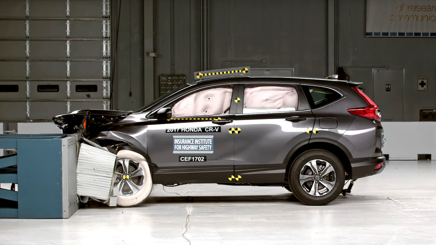 2017 Honda CR-V Earns Tougher IIHS Top Safety Pick+ Rating