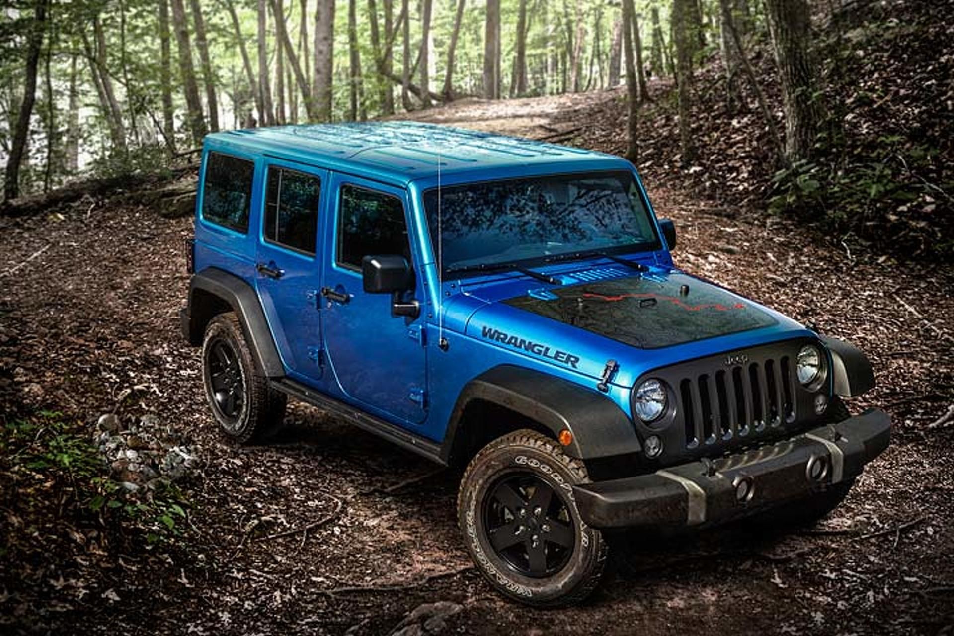 The Next-Gen Jeep Wrangler Gets Diesel and Hybrid Variants